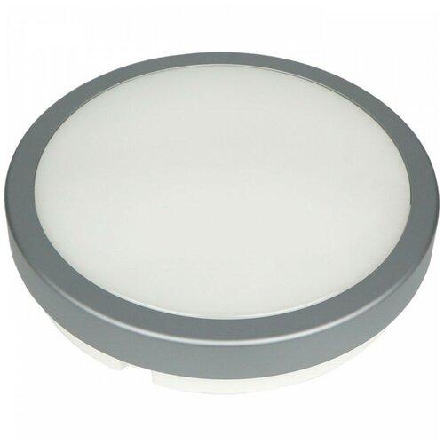 Novotech Уличный настенно-потолочный светильник Opal Led 357515, 24 Вт, цвет арматуры: серый, цвет плафона белый уличный потолочный светильник novotech 357505