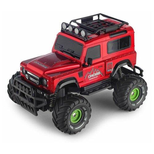 Купить Детская игрушка Yako toys Машина на радиоуправлении Land Rover красный, машина на радиоуправлении, радиоуправляемая, игрушечная, 1:18; 2, 4G, с зарядным устройством, Радиоуправляемые игрушки