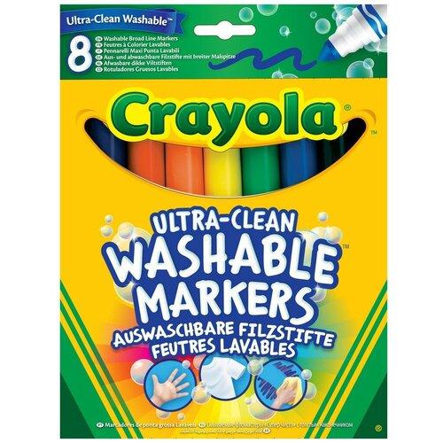 Купить Crayola Фломастеры смываемые 8 шт. (58-8328), Фломастеры и маркеры