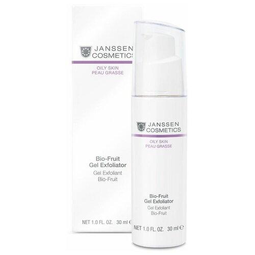 Janssen Cosmetics пилинг концентрат Oily Skin Bio-fruit Gel Exfoliator Биокомплекс с фруктовыми кислотами 20% 30 мл недорого