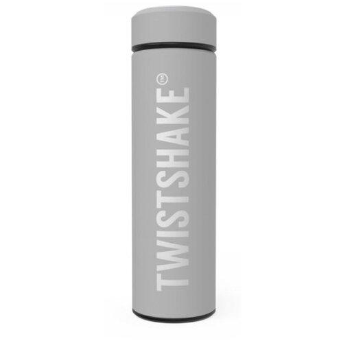 Классический термос Twistshake Pastel, 0.42 л светло-серый