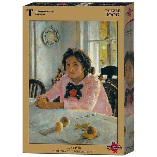 Пазл Стелла Плюс Серов В.А. Девочка с персиками (TG100069), 1000 дет.