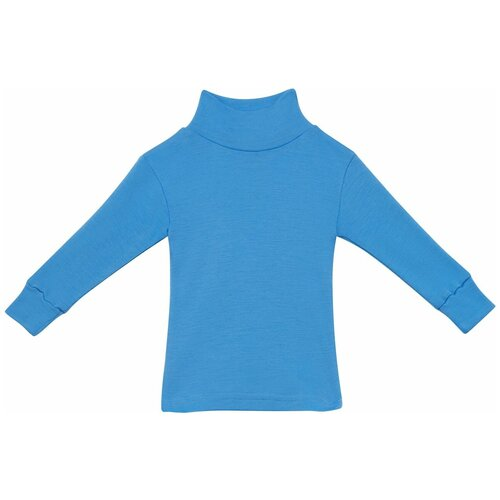 Водолазка NORVEG Soft City Style 4CSU2HL, размер 128-134, голубой