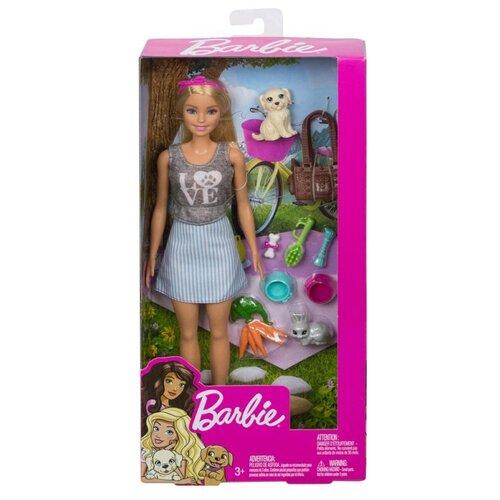 Фото - Barbie Игровой набор Питомцы Блондинка FPR48 набор игровой barbie оздоровительный спа центр gjr84