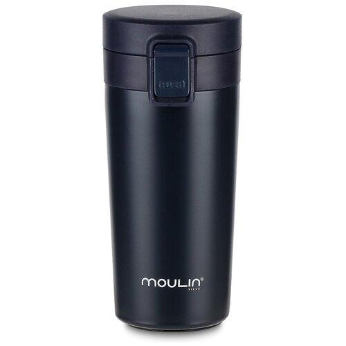 Термокружка MOULIN VILLA City TBC-420, 0.42 л темно-синий