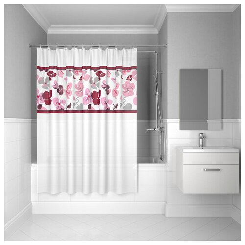 Штора для ванной комнаты, 180*180см, PEVA, P23PV11i11, IDDIS штора для ванной комнаты 180 180см peva p27pv11i11 iddis