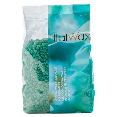 Купить ItalWax Воск горячий пленочный Азулен в гранулах 500 г