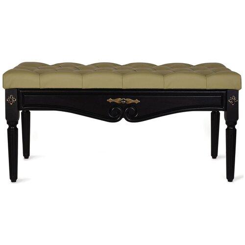 Банкетка Мебелик Сильвия венге/оливковый банкетка мебелик сильвия венге оливковый
