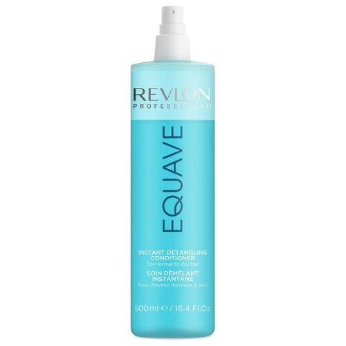 Фото - Revlon Professional несмываемый спрей-кондиционер для волос Equave Instant Detangling облегчающий расчесывание, 500 мл revlon professional шампунь equave instant beauty hydro detangling 250 мл