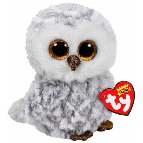 Купить Мягкая игрушка TY Beanie boos Совёнок Owlette 33 см, Мягкие игрушки