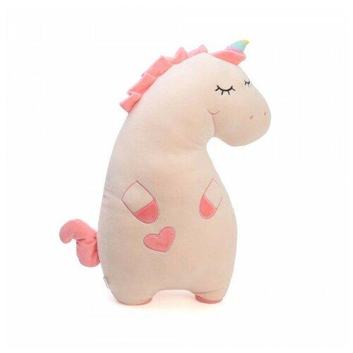 Мягкая игрушка-подушка ТОМАТО Единорог 50см. розовая
