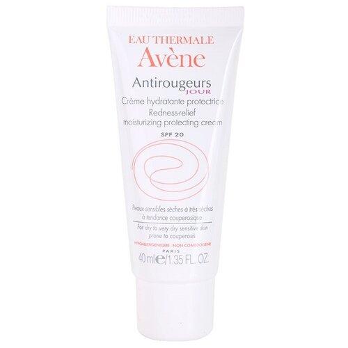 Купить AVENE Antirougeurs Jour Дневной увлажняющий крем для лица от покраснений кожи SPF 20, 40 мл