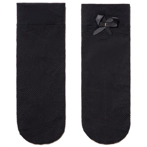Капроновые носки Conte Elegant Fantasy 40 18С-10СП, размер 23-25, nero