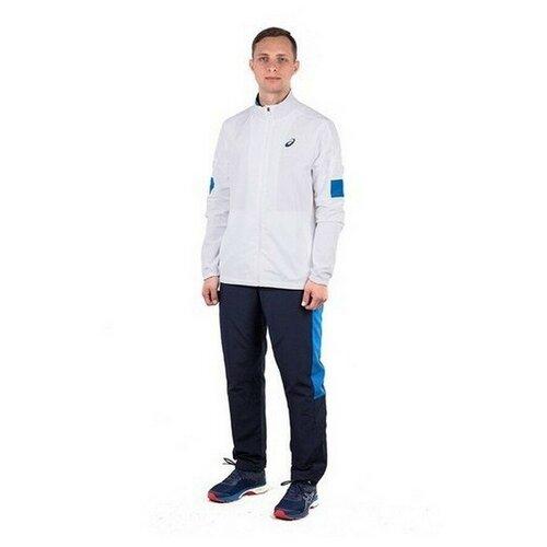 Спортивный костюм мужской ASICS 142894 0001 SUIT INDOOR 1428940001-2 размер 52 цвет белый