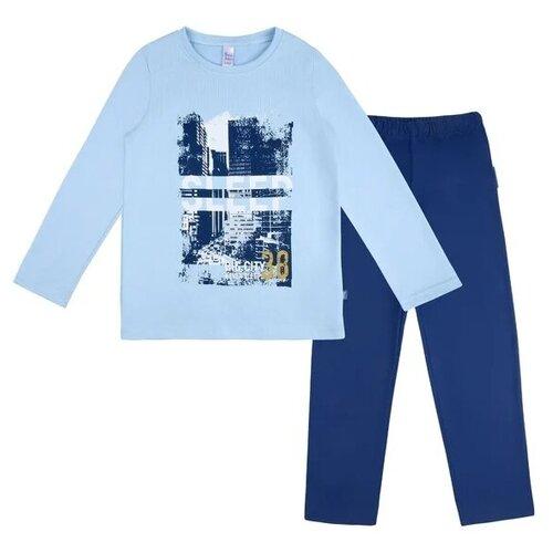 Купить Пижама Bossa Nova размер 86-92, голубой/синий, Домашняя одежда