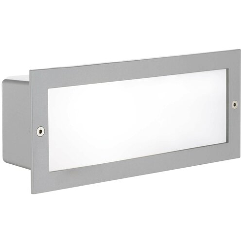 Eglo Встраиваемый светильник Zimba 88008, E27, 60 Вт, цвет арматуры: серый, цвет плафона белый светильник eglo obregon 95384 e27 60 вт