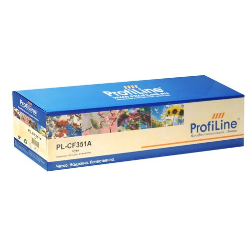 Фото - Картридж ProfiLine PL-CF351A-C, совместимый картридж profiline pl ce741a c совместимый