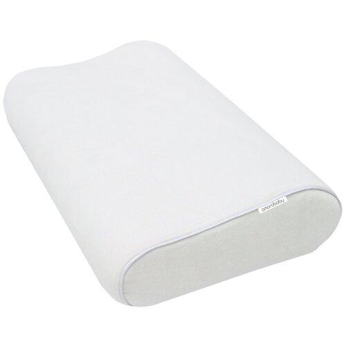 Подушка Amarobaby Memory Foam Junior, AMARO-44MF-J 30 х 50 см белый