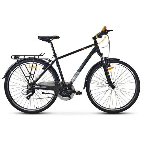 велосипед stels navigator 800 lady 28 v010 17 синий Дорожный велосипед STELS Navigator 800 Gent 28 V010 (2021) черный 19 (требует финальной сборки)