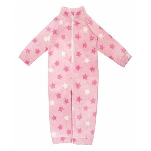 Комбинезон Веселый Малыш 352/271 звезды, размер 68, розовый