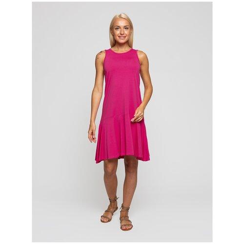 Женское легкое платье сарафан, Lunarable фуксия, размер 44