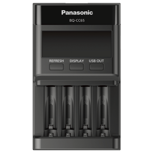 Зарядное устройство с LCD экраном Panasonic BQ-CC65E