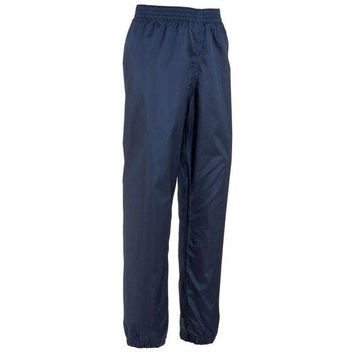 Верхние брюки водонепроницаемые походные детские 2–6 лет MH100 QUECHUA Х Decathlon Синий Графит 113-121 CM 5-6