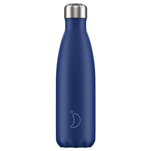 Термобутылка Chilly's Matte, 0.5 л blue