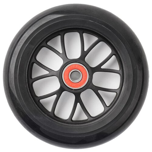 Фото - Колесо для самоката Trolo Maxi переднее 120 мм черный кикборд trolo d3 красный черный