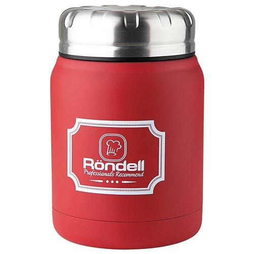 Термос для еды Rondell Picnic, 0.5 л красный