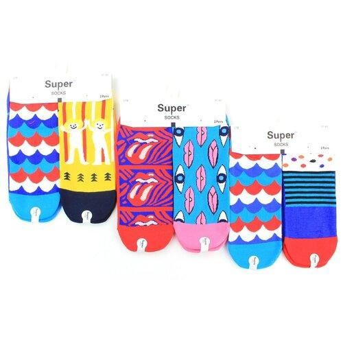 Женские носки Super Socks LTB-111 хлопок р 37-43 5 пар