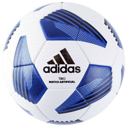 мяч футбольный adidas conext19 tcpt dn8636 белый желтый оранжевый размер 5 Мяч футбольный Adidas Tiro Lge Art арт.FS0387 р.5