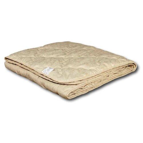 Фото - Одеяло АльВиТек Лён-Эко, легкое, 200 х 220 см (бежевый) одеяло альвитек крапива традиция легкое 200 х 220 см зеленый