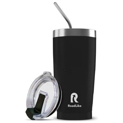 Термокружка Roadlike City mug, 0.57 л черный
