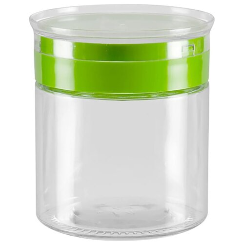 Фото - Nadoba банка для сыпучих продуктов Tekla 0.85 л бесцветный/зеленый банка для сыпучих продуктов nadoba 741111