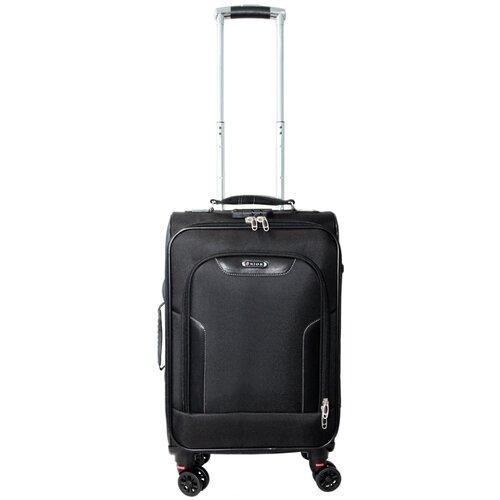 Фото - Чемодан Rion+ 420 47 л, черный чемодан rion 418 3 62 л серый