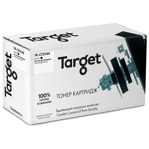 Фото - Картридж Target TR-CF214X, совместимый картридж target tr mltd209l совместимый