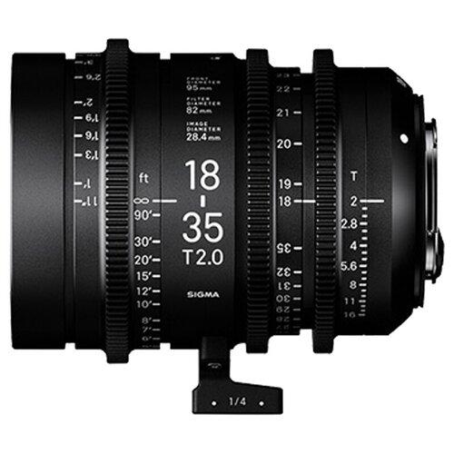 Фото - Объектив Sigma 18-35mm T2 Canon EF sigma ud 11 для объективов canon ef m