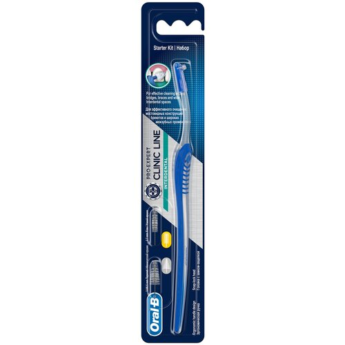 Зубной ершик Oral-B Pro-Expert Clinic Line Interdental, синий