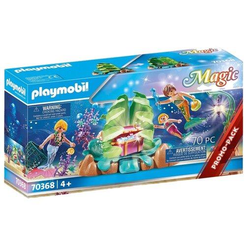 Конструктор Playmobil Magic 70368 Коралловая зона отдыха для русалок