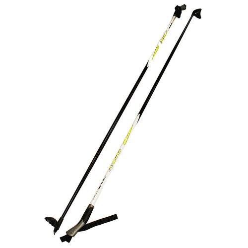 Палки лыжные STC 160 X600 Yellow 100% стекловолокно