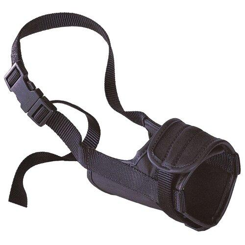 намордник для собак ferplast safe medium обхват морды 20 25 см черный Намордник для собак Ferplast Safe Small, обхват морды 14-20 см черный