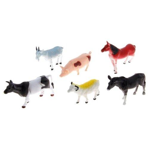 Фото - Набор животных «Домашние животные», 6 фигурок набор фигурок домашние животные 6 шт