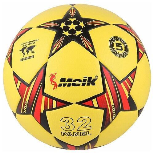 R18028-5 Мяч футбольный Meik-098 4-слоя TPU+PVC 3.2, 400 гр, термосшивка