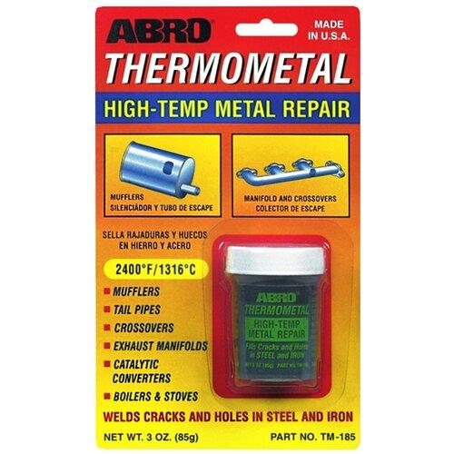 Холодная сварка ABRO Термометалл / Made in U.S.A. / Высокотемпературная сварка-клей 85 г. TM-185