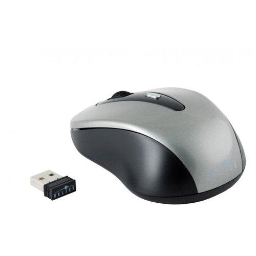 Фото - Мышь компьютерная Oklick 435MW серый/черный компьютерная мышь oklick 545mw черный серый usb