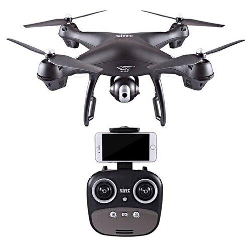 Квадрокоптер - SJRC S70W 5G белый (GPS, 5G FPV, камера 1080p, дальность передачи изображения: 400 м)