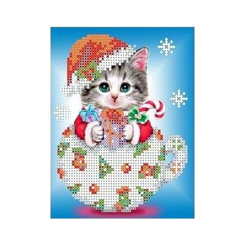 Снежок Рисунок на ткани 12,5х15,9 Каролинка ткбж 5021 12,5х15,9 Каролинка ткбж 5021)