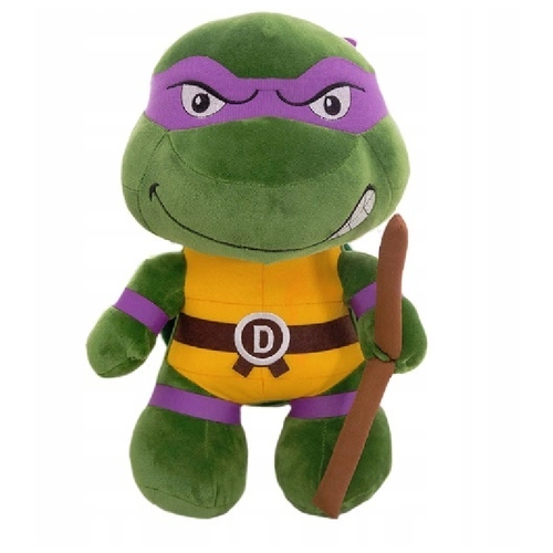 Мягкая игрушка - Черепашка Ниндзя фиолетовая повязка (Донателло), 25см
