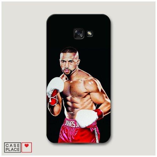 Чехол Пластиковый Samsung Galaxy A7 2017 Рой Джонс 1